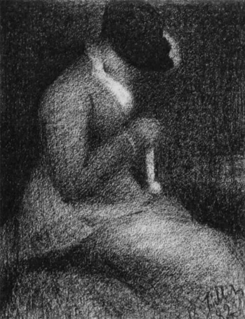 """1882 Сёра Ж.П.""""Вязанье."""""""