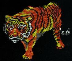 Тигр (Е. Костинская, аппликация)