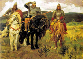 Три богатыря (Виктор Васнецов, 1898 г.)