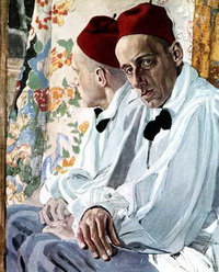 Портрет Мейерхольда (А.Я. Головин)