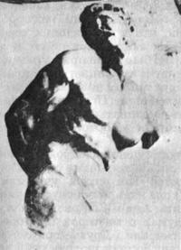 Милон кротонский (Жорж Сёра)