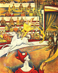 Цирк (Жорж Сёра, 1891 г.)