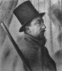 Портрет Поля Синьяка (Жорж Пьер Сёра)
