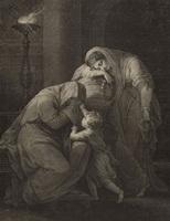 Андромаха, оплакивающая Гектора (Б. Томас)