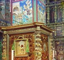 Фреска на колонне в церкви Иоанна Златоуста