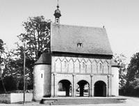 Надвратная капелла монастыря в Лорше (Германия, ок. 774 г.)