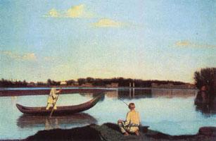 Рыбаки (Г.В. Сорока, Венециановская школа)