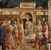 Фреска в капелле Никколина