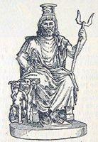 "Статуя бога ""Сераписа"""