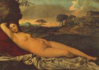 Спящая Венера (Джорджоне)