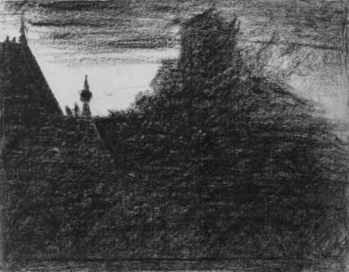 """1882 Сёра Ж.П.""""Часовая башенка."""""""