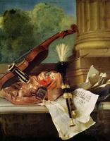 Атрибуты музыки (Ж.Б. Удри)