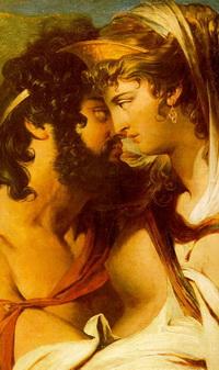 Зевс и Гера на горе Ида (Дж. Барри)