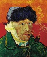 Автопортрет с трубкой (Ван-Гог)