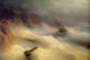 Буря у мыса Айя (И.К. Айвазовский, 1875 г.)
