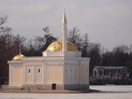 Павильон Турецкая баня (1850-1852 г.)