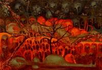 Рынок (Ю. Жарких, художник-нонконформист, 1977 г.)