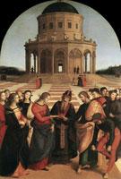 Обручение Марии (Рафаэль)