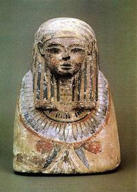 Бюст предка из Дейр эль-Мединэ