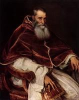 Портрет Папы Павла Третьего (Тициан, 1545-1546 г.)