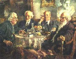 Портрет старейших советских художников