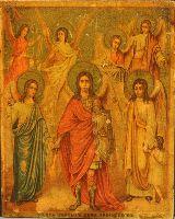 "Картина ""Бог Индра и семь мудрецов"""