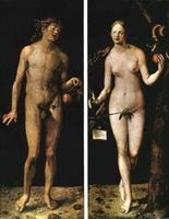 Диптих Адам и Ева (А. Дюрер)