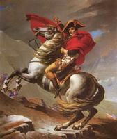 Наполеон на перевале Сен-Бернард (Ж.-Л. Давид)