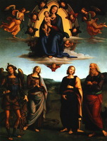 Мадонна с младенцем и святыми