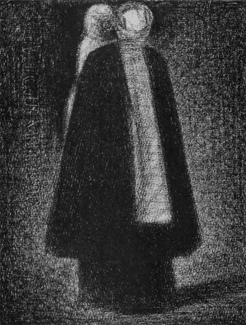 """1882 Сёра Ж.П.""""Кормилица."""""""