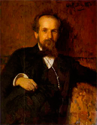 Павел Петрович Чистяков (И.Е. Репин, 1878 г.)