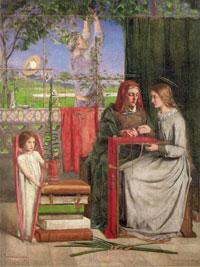 Девичество Марии (Д.Г. Росетти)