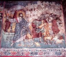 Фреска Изгнание торгующих из храма
