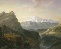 Вид Гуниба (И.Ф. Александровский)