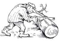 Карикатура на тему налогов