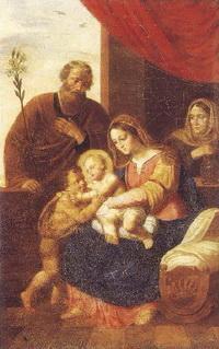 Св. семейство с Анной-пророчицей
