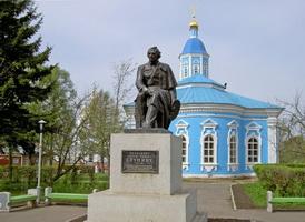 Памятник А.В. Ступину в Арзамасе