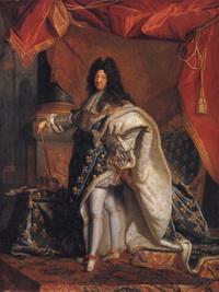 Портрет Людовика XIV (И. Риго)