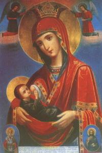 Виленская икона Богоматери (18 век)