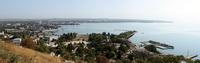 Вид на Керченский порт с горы Митридат