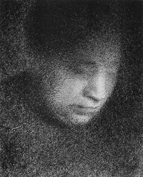 """1883 Сёра Ж.П.""""Мать художника."""""""