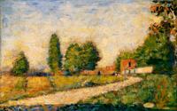 Сельская дорога (Жорж Сёра, 1882 г.)