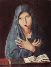 Благовещение (Антонелло де Мессина)