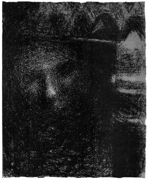 """1883 Сёра Ж.П.""""Лампа."""""""