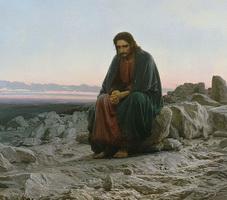 Христос в пустыне (И.Н. Крамской, 1872 г.)