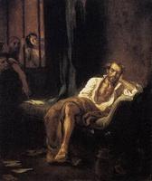 Тассо в больнице Св. Анны (Э. Делакруа)