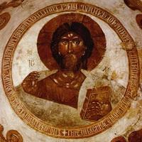 Спас Вседержитель (роспись купола церкви, 1378 г.)