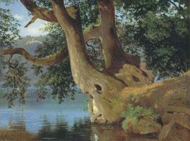 Озеро Неми близ Рима (В.И. Штернберг, 1845 г.)