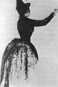 Женщина с поднятой рукой (Сёра)