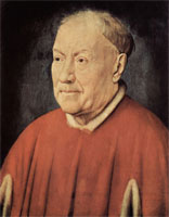 Портрет кардинала Альбергати (Ян ван Эйк)